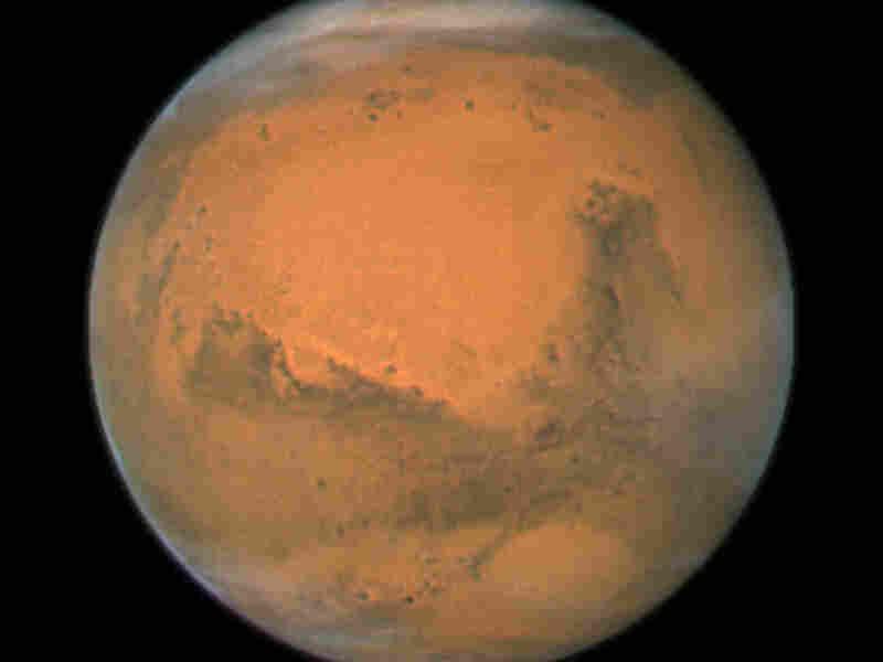 Close-up of Mars