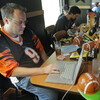 A fantasy football draft. (Al Behrman/AP)
