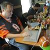 A fantasy football draft. (Al Behrman/AP)