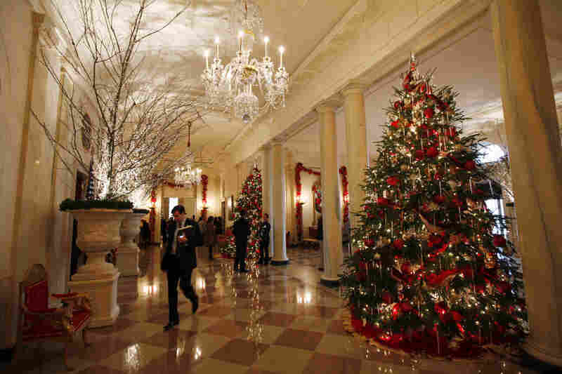 "The theme for Christmas at the White House this year is ""Simple Gifts""."