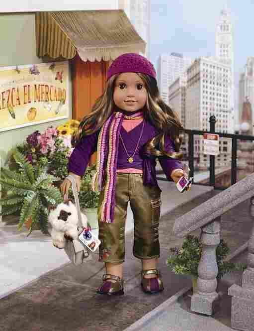 In 1986, American Girl dolls, books and accessories are first introduced as pre-teen fictional characters from important times in U.S. history. Marisol Luna is the Mexican-American character in the popular doll maker's line. The dolls, which still stand at 18 inches tall, are priced at about $100. While toymakers have seen doll sales slow during the recession years, sales of American Girl dolls...