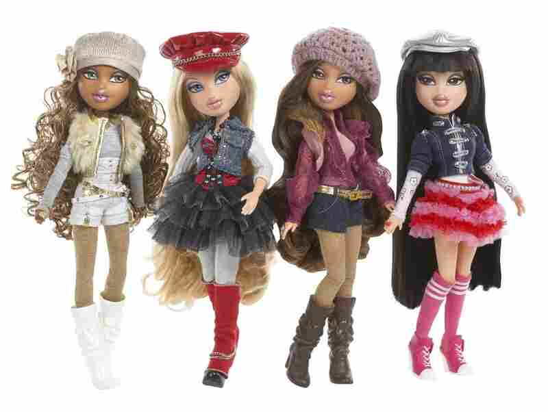 In 2001, MGA Entertainment released the Bratz dolls. The dolls are represented as teenagers, and distinguished by their large heads with big eyes and lips, skinny bodies, and heavy face make-up. The original dolls stand at 10 inches tall, but the toymaker also released pocket-sized mini-Bratz dolls. By 2006, Bratz dolls has 40 percent of the global fashion-doll market. In 2010, Barbie's Mattel ...