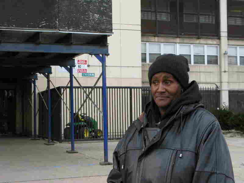 Annie Ricks, 54, has lived in a Cabrini-Green for the last 21 years.