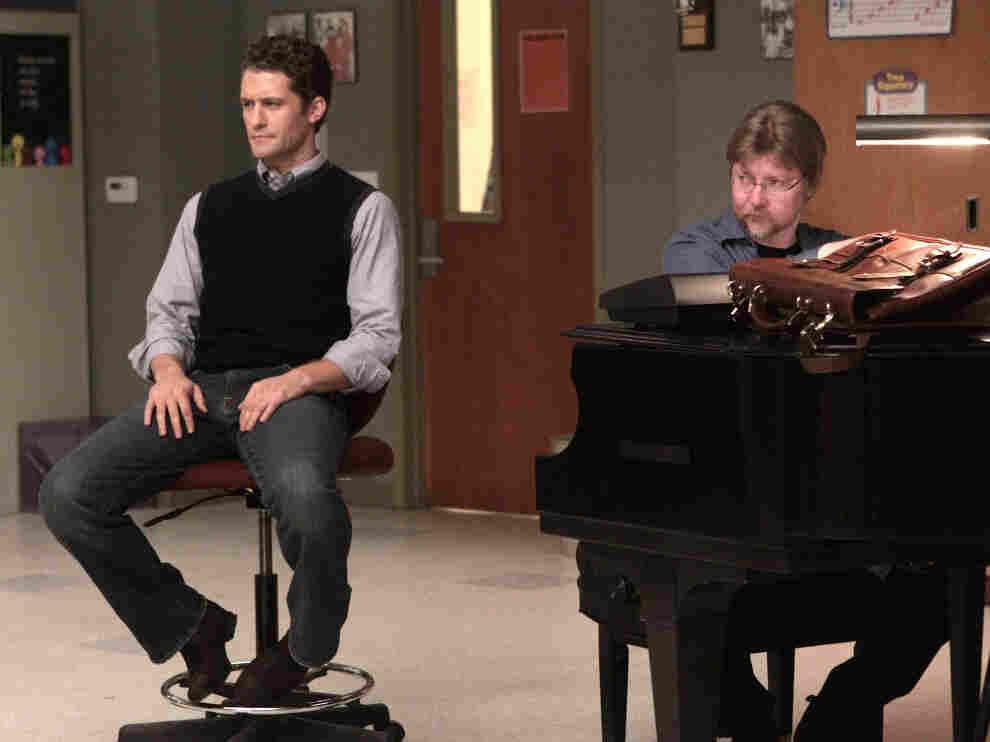 Matthew Morrison and Brad Ellis on 'Glee'
