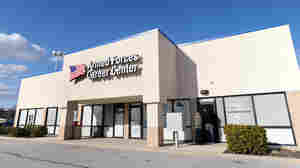 The FBI says a 21-year-old Muslim convert tried to blow up this military recruitment center.