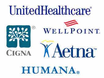 Insurance company logos