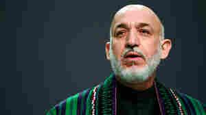 Afghan President Hamid Karzai; Nov. 20, 2010; in Lisbon.