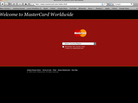 A screen shot of Mastercard.com.