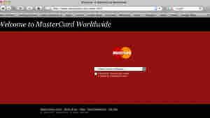 A screen shot of Mastercard.com.
