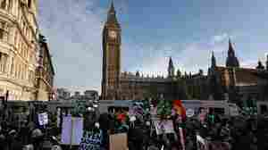 In U.K., Thousands Of Students In Streets Again To Protest Tuition Hike