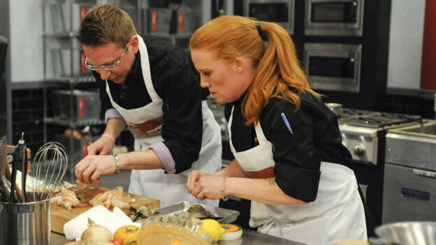 Stephen Asprinio, Tiffani Faison