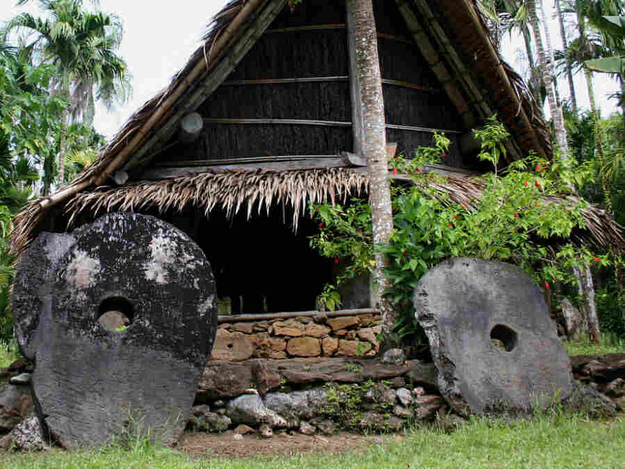 Stoney money in Yap.