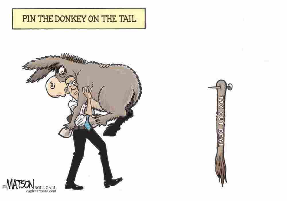 Pin The Donkey On The Tax Cut Deal