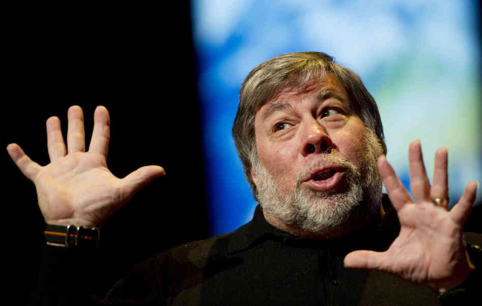 Steve Wozniak, co-founder of Apple.