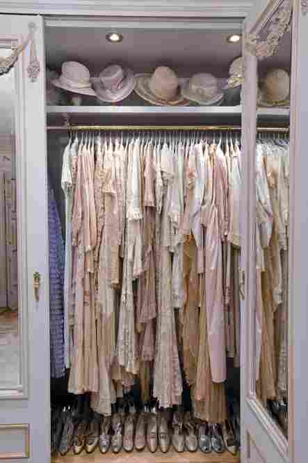 A section of Streisand's home has been turned into a replica of an antique clothing shop — all of clothes she has worn.