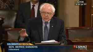 Vermont independent Sen. Bernie Sanders