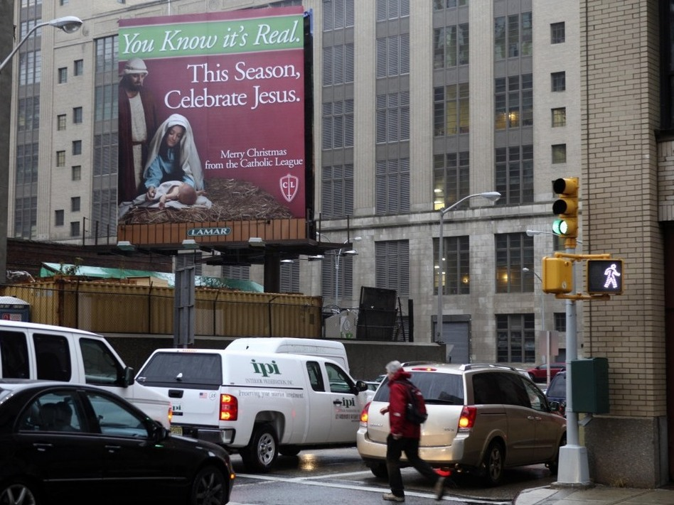 War On Christmas Spreads To Lincoln Tunnel Wbur News