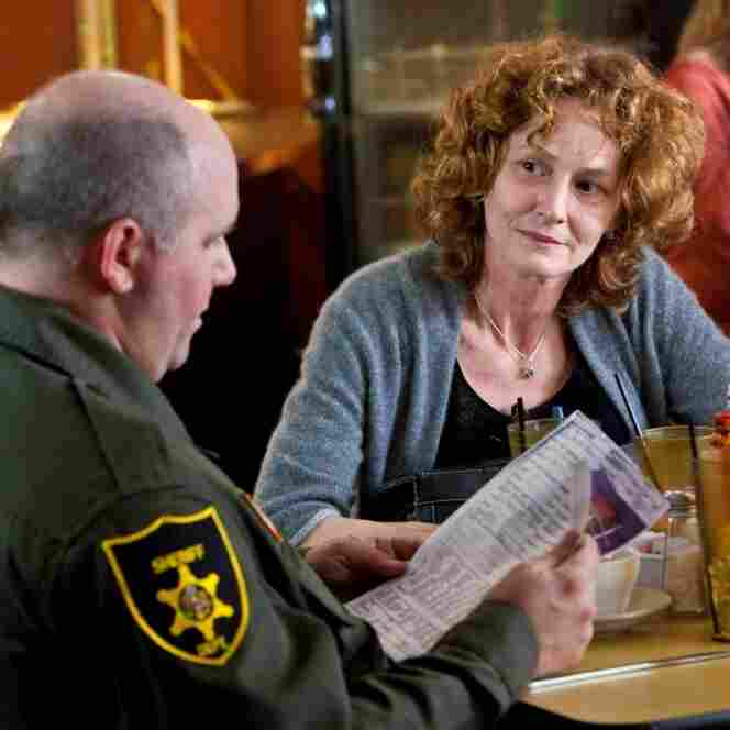 Actress Melissa Leo in the HBO series Treme