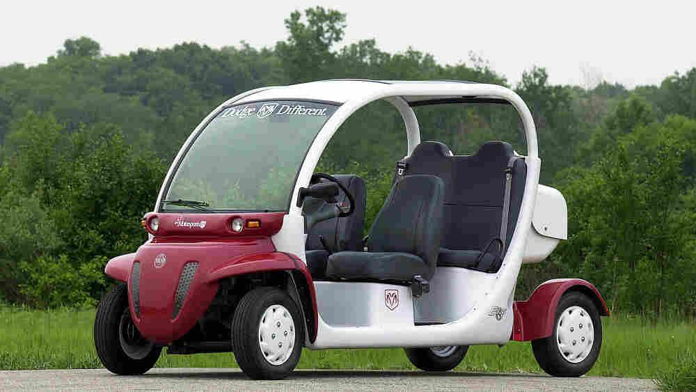 Chrysler GEM electric vehicle