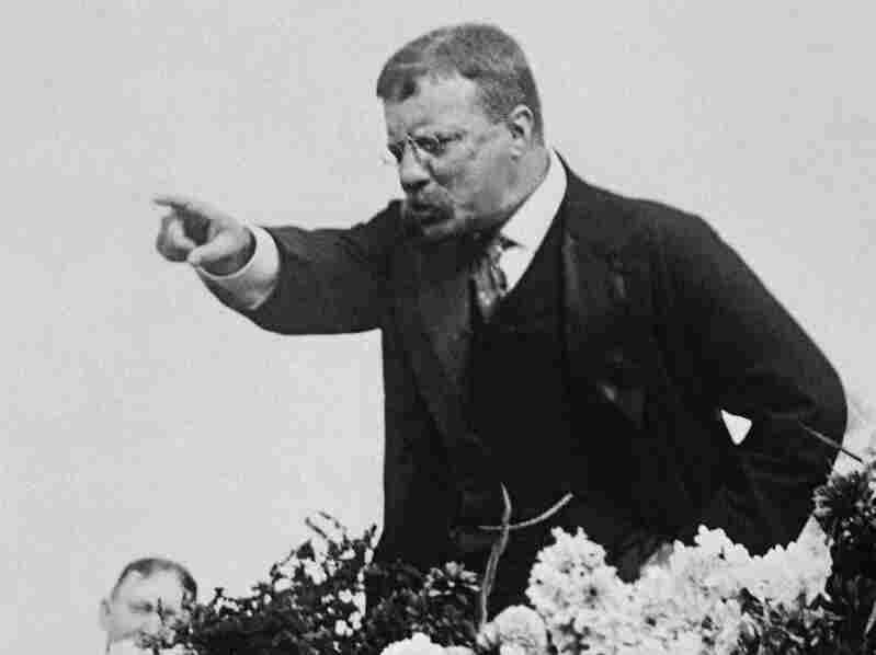 Teddy Roosevelt in 1900.
