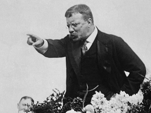 Teddy Roosevelt in 1900.