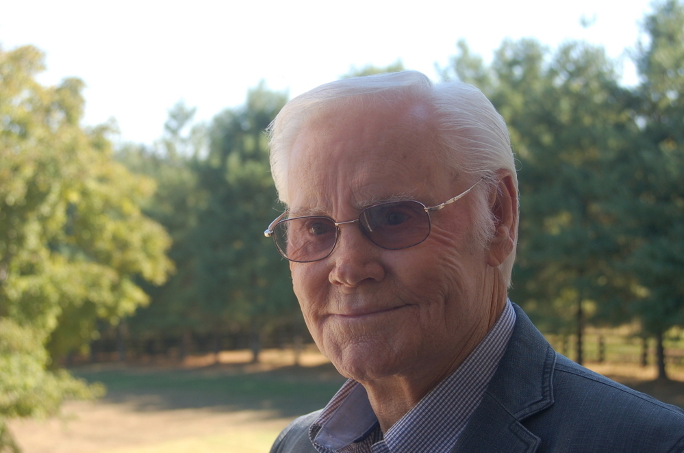 George Jones at his home in Franklin, Tenn.