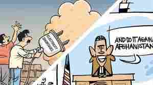 Double Take 'Toons: August Iraq Combat Ops End
