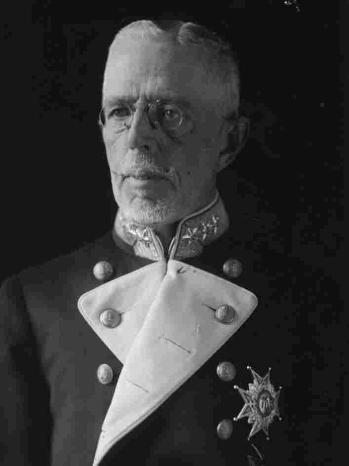 Gustav V of Sweden circa 1925