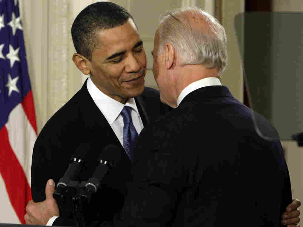 """March 23: Vice President Biden famously drops an """"F-bomb."""""""