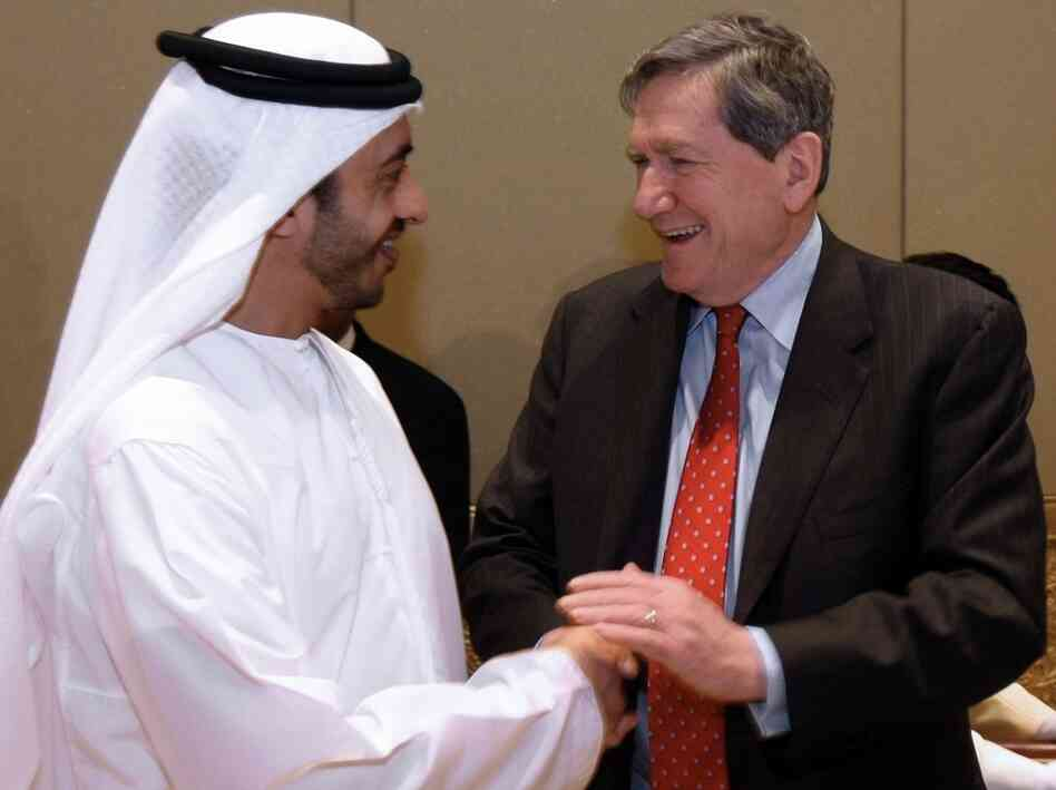 Special envoy to Afghanistan and Pakistan Richard Holbrooke