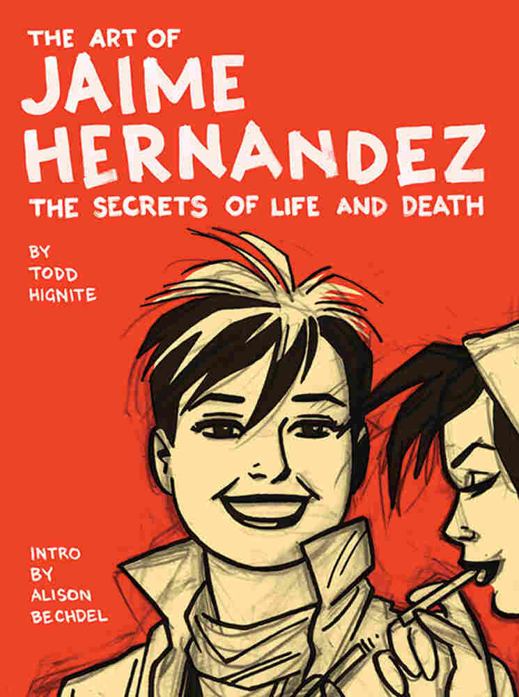 Cover of The Art of Jaime Hernandez