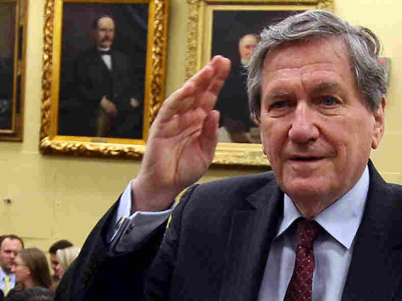 July 28, 2010: Richard Holbrooke arrives at a Congressional hearing.