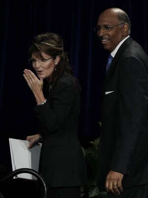 Sarah Palin., Michael Steele