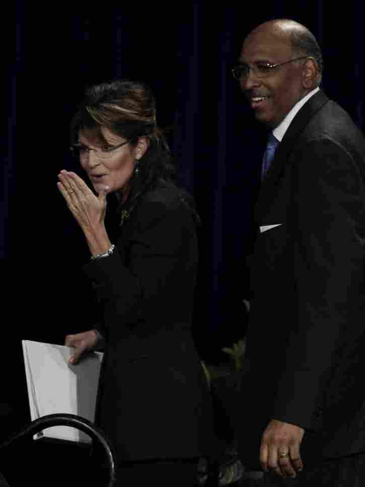 Sarah Palin., Michael Steele