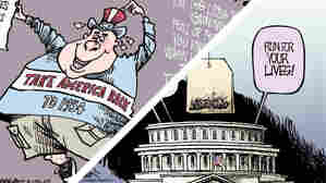 Double Take 'Toons May: Tea Party Wins