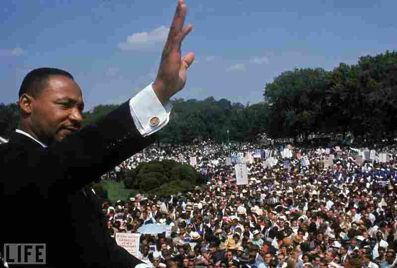 1963: Martin Luther King Jr., civil rights leader