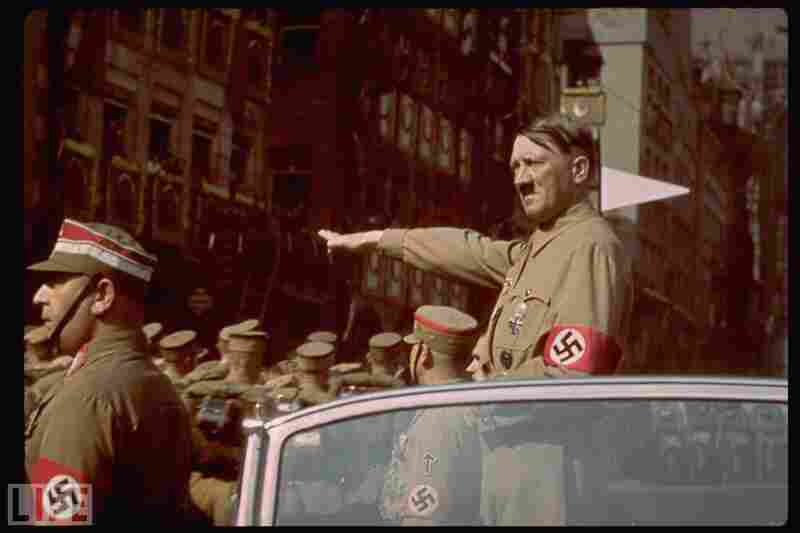 1938: Adolf Hitler, chancellor of Germany