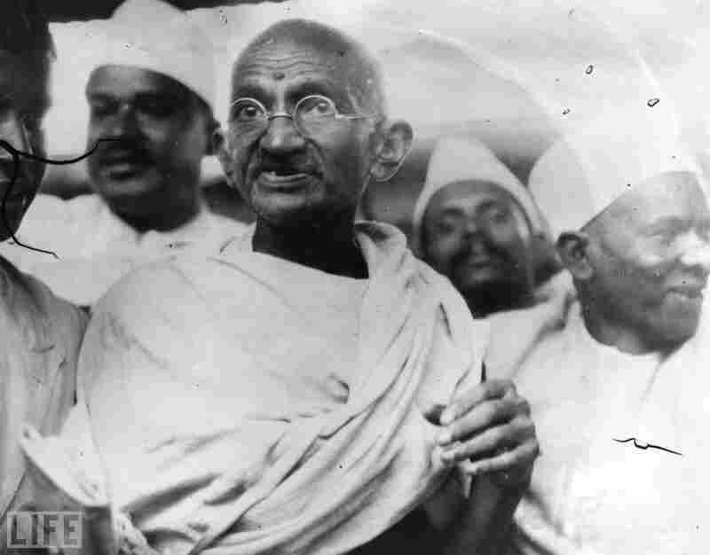 1930: Mahatma Gandhi, Indian idependence activist
