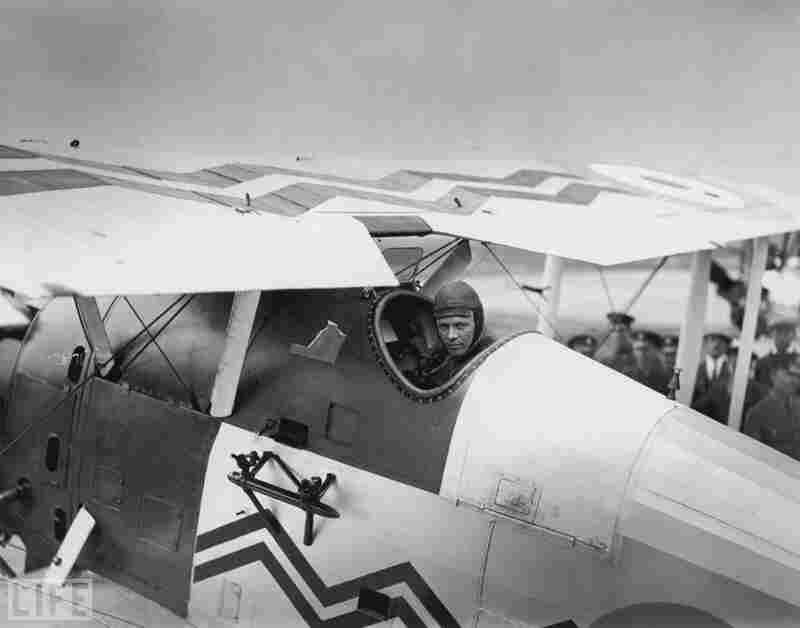 1927: Charles Lindbergh, aviator