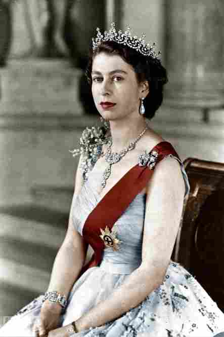1952: Queen Elizabeth II, newly crowned monarch of the U.K.