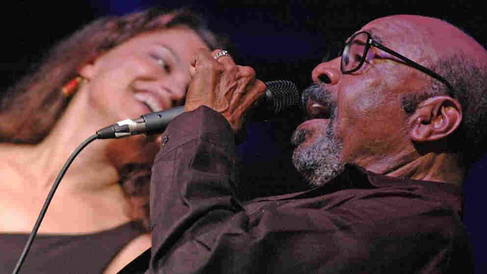 James Moody (right) performs with Roberta Gambarini at the Kennedy Center