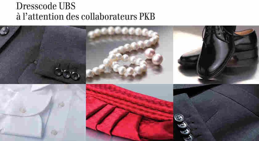 UBS dress code