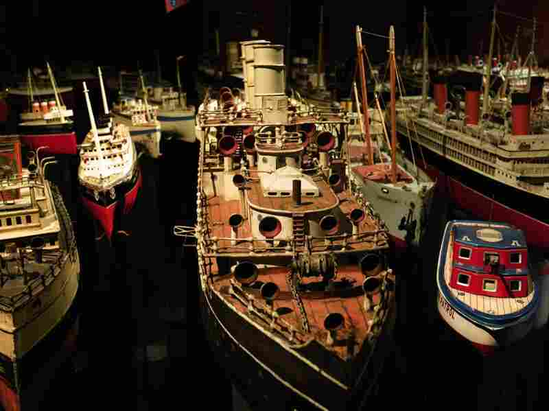 Throughout the 19th century, the size and power of ships continuously grew, reflecting the latest of a nation's engineering and artistic talents. The romance of the great floating palaces excited younger generations — and toy makers.