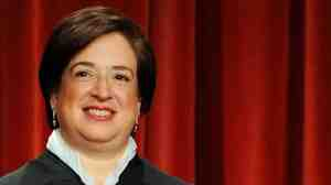 The newest member of the Supreme Court, Justice Elena Kagan, participates in the court's official photo session on Oct. 8.