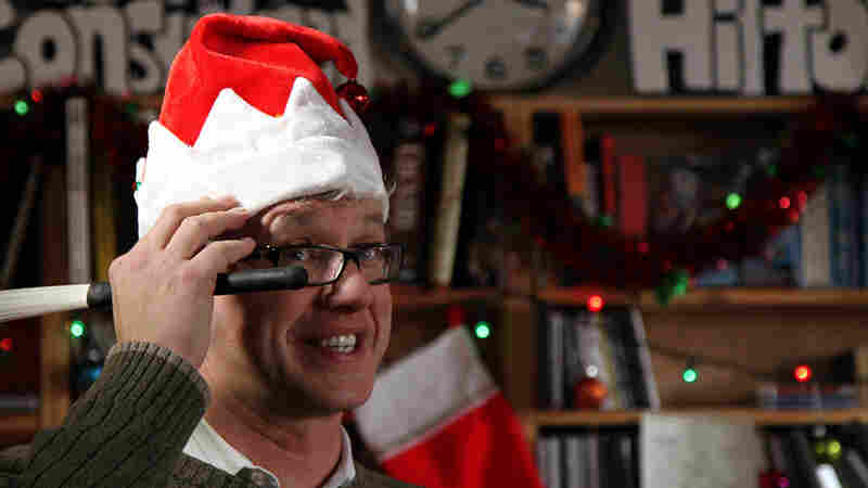 Matt Wilson's Christmas Tree-O performs a Tiny Desk Concert at the NPR Music offices.