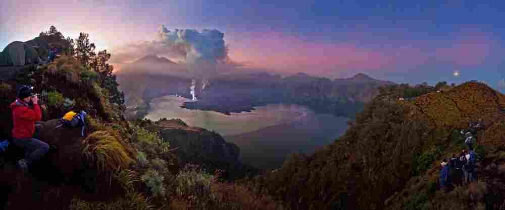 Grand prize winner, nature category: Eruption of Gunung Rinjani