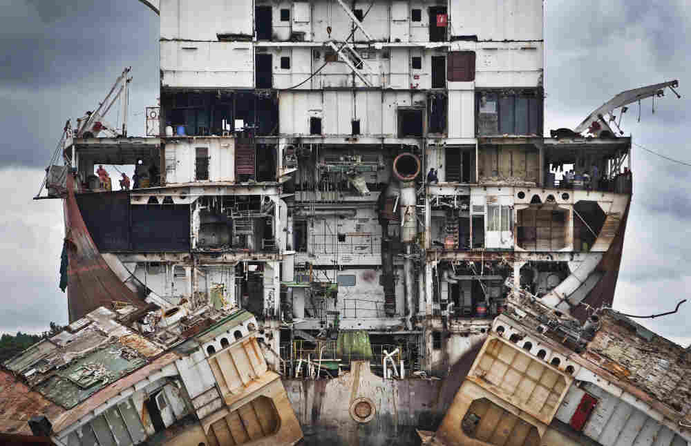Finalist, places category: Chittagong in Bangladesh is the second biggest ship breaking yard in the world, it is a graveyard where ships are taken in from all around the world for their last voyage, to be taken apart.