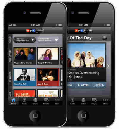 Version 2.0 of the NPR Music app for iPhone and iPod Touch.