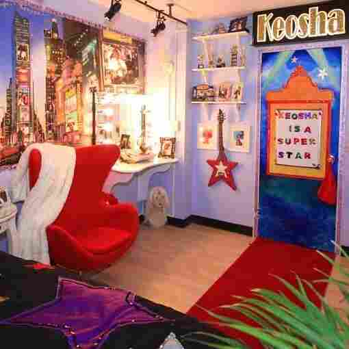 Keosha Stukes' redesigned bedroom