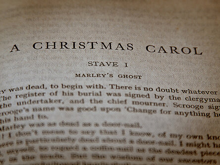 a final lesson on the meaning of christmas carols